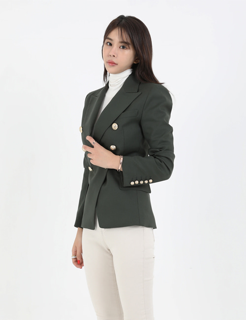 B. WOOL DOUBLEBREASTED JACKET_2COLOR