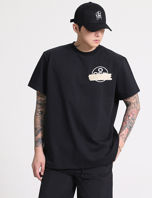 O. TAPE ARROWS ROUND T-SHIRTS_2COLOR_M