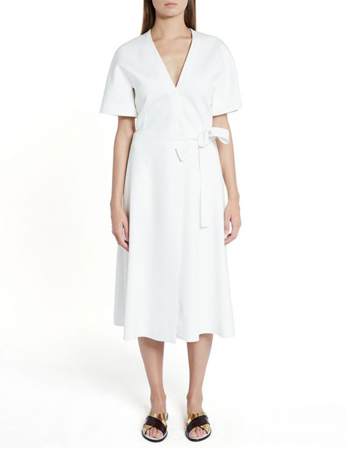 S. LINEN ROBE ONEPIECE_2COLOR