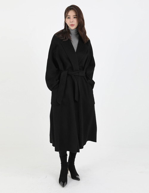 M. RABBRO CASHMERE COAT_BLACK