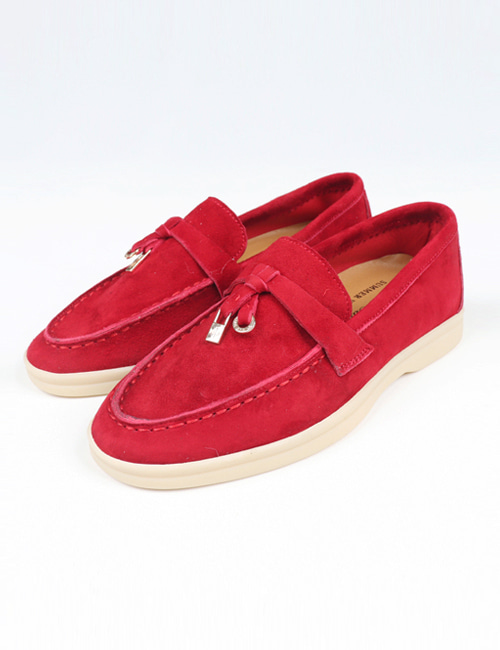 L. SUMMER WALK SUEDE SHOES_4COLOR_W