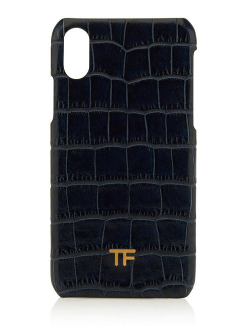 T. ALLIGATOR LEATHER  PHON CASE_2COLOR