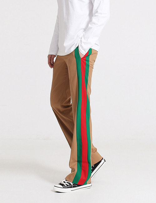 G. HERITAGE WEB TAPE WOOL TROUSER
