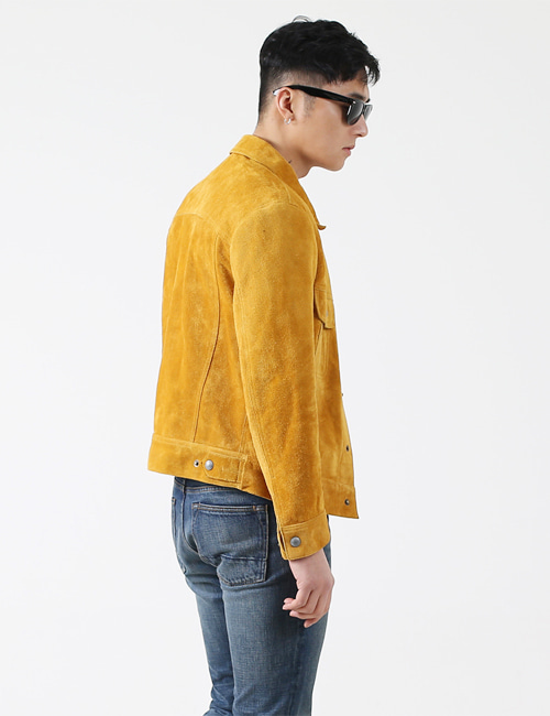 T. SUEDE CASUAL JACKET