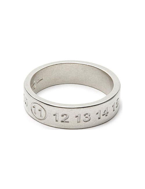 M. SILVER 925 NUMBER RING